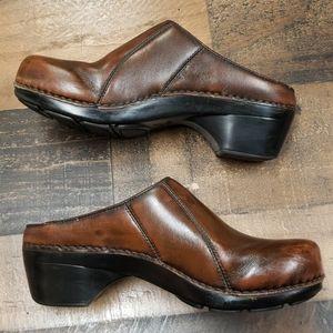Dansko Brown Slip on Clogs sz 11